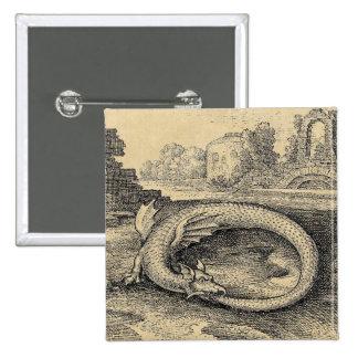 Símbolo do dragão de Ouroboros Boton