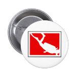 Símbolo do mergulho boton