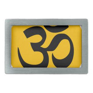 Símbolo do OM, círculo preto com ouro