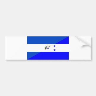 símbolo do país da bandeira de El Salvador Adesivo Para Carro