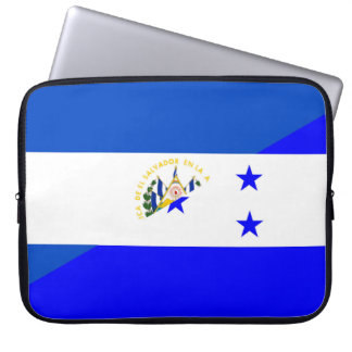 símbolo do país da bandeira de El Salvador Bolsa E Capa De Notebook