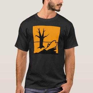 Símbolo do perigo ambiental camiseta