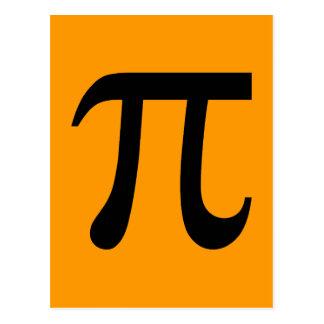 Símbolo do Pi Cartoes Postais