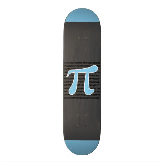 Símbolo do Pi dos azuis bebés Skate