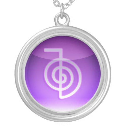 símbolo do reiki colares personalizados