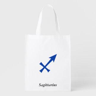 Símbolo do Sagitário Sacola Ecológica Para Supermercado