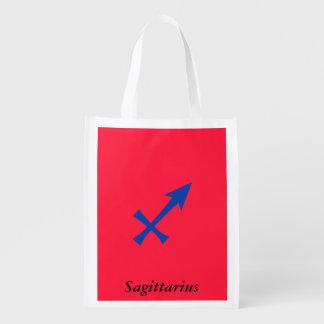 Símbolo do Sagitário Sacola Reusável