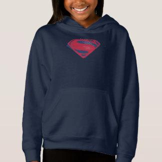 Símbolo do superman da escova & da reticulação da