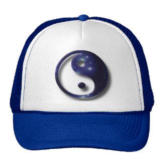 Símbolo do universo de Yin e de Yang Boné