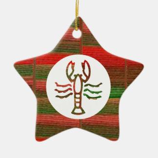 Símbolo do zodíaco da astrologia da ESCORPIÃO Enfeite De Natal
