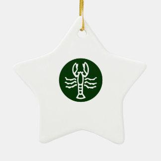 Símbolo do zodíaco da ESCORPIÃO Enfeite
