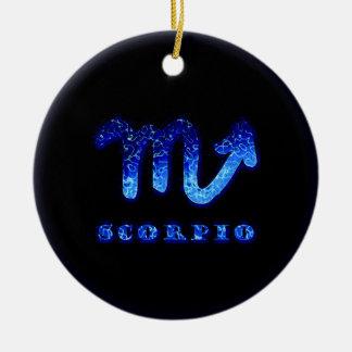 Símbolo do zodíaco da Escorpião Enfeite De Natal