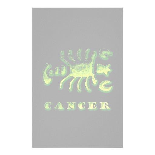 Símbolo do zodíaco do cancer papelaria