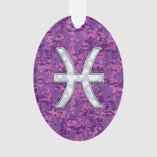 Símbolo do zodíaco dos peixes em Digitas