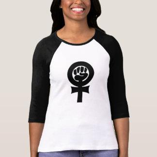 Símbolo feminista camisetas