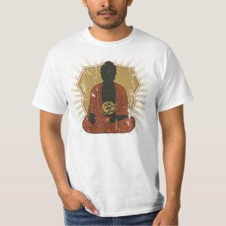 Símbolo Meditating de Buddha OM Camiseta