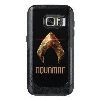 Símbolo metálico da liga de justiça | Aquaman