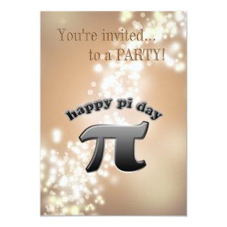 Símbolo nacional do Pi do dia do Pi para Convite Personalizados