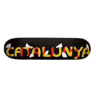 Símbolo patriótico, liberdade de Catalonia, Catalu Skate