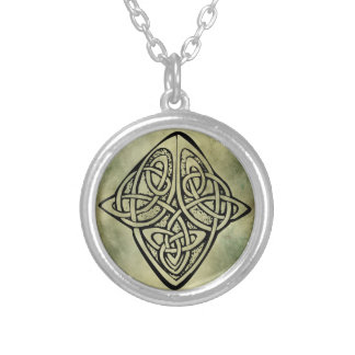 símbolo sagrado irlandês celta colares personalizados