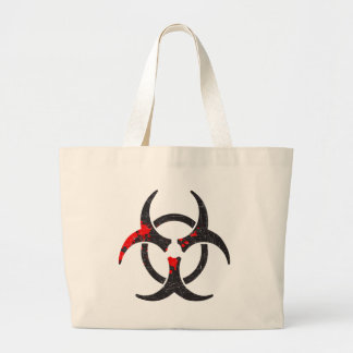 Símbolo sangrento do Biohazard Bolsas