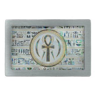 Símbolo transversal de Ankh do egípcio de Shell do