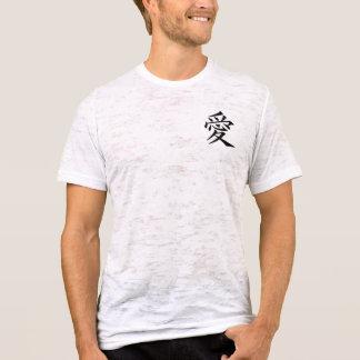 símbolos chineses camiseta