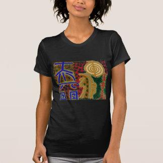 Símbolos curas do vintage REIKI como dito pelo Camiseta