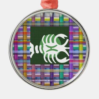 Símbolos de Jyotish da astrologia do zodíaco da Ornamento Para Arvores De Natal