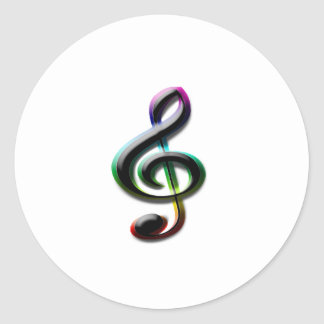 Símbolos de música adesivo