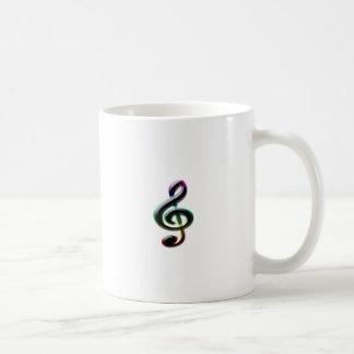 Símbolos de música canecas