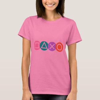 Símbolos fundamentais do jogo camiseta