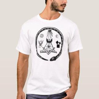 Símbolos maçónicos camiseta