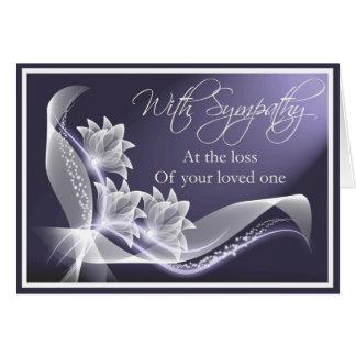 Simpatia - perda de amado um cartão