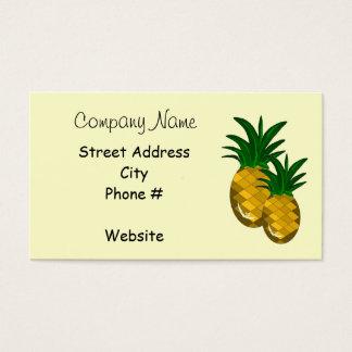 Simplesmente abacaxi cartão de visitas