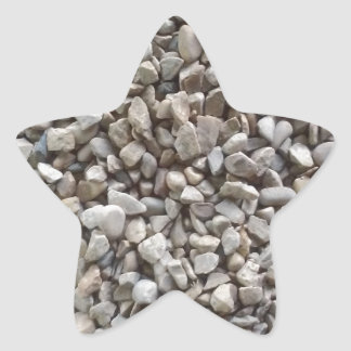 Simplesmente cascalho adesito estrela