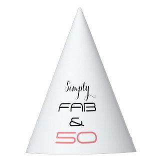 Simplesmente fabuloso & 50 - chapéu do partido