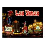 Sinais de néon coloridos, Las Vegas, Nevada Cartao Postal
