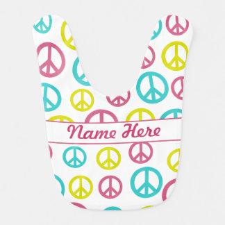 Sinais de paz babadores