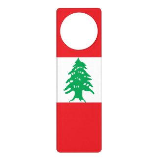 Sinais De Porta Bandeira de Líbano