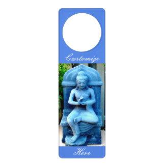 Sinais De Porta pedra azul buddha