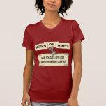 Sinais do envelhecimento - cabelo t-shirts