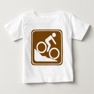 Sinal da estrada de BMX Camisetas