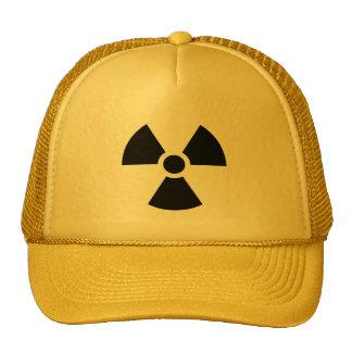 Sinal da radiação boné