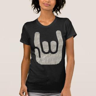 sinal da rocha t-shirt