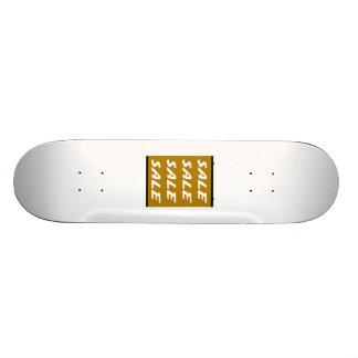 Sinal da venda de Brown Skate Boards