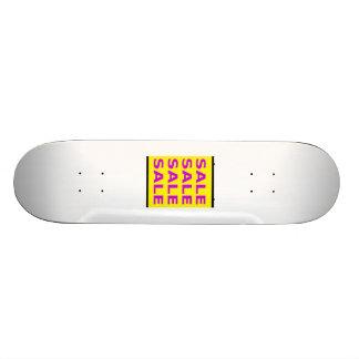 Sinal da venda skates personalizados