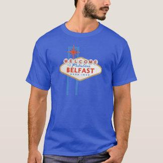 Sinal de Belfast - de Vegas Camiseta