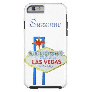 Sinal de boas-vindas de Las Vegas para telefones Capa Tough Para iPhone 6