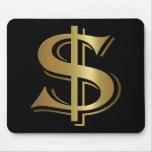 Sinal de dólar Mousepad